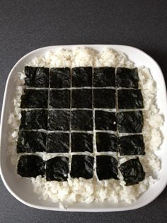 Luie 'sushi' / Lazy sushi