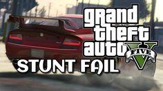 AWESOME GTA 5 STUNT FAIL