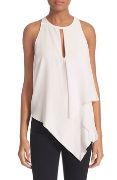 Elizabeth and James 'Tabby' Silk Racerback Top