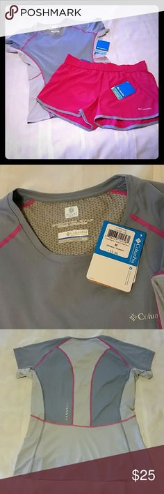 Columbia Omni Outfit size Medium Columbia Omni Outfit size Medium- shorts are Omni-wick and shirt is Omni-Freeze Zero both are new with tags. Columbia  Shorts