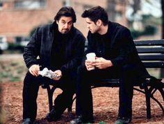 """Al Pacino y Colin Farrell en """"La Prueba"""", 2003"""