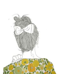 I die for these illustrations.   pequeña Louise. by puntobipolar, via Flickr