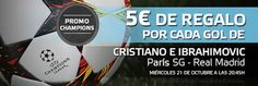 el forero jrvm y todos los bonos de deportes: suertia 5 euros bono por gol de Ronaldo y Ibrahimo...