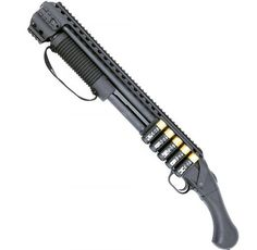 Black Aces Tactical is excited to announce the release of the company's new Quad Rail and Side Shell Holder combination for the Mossberg 590 Shockwave.