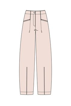 Order our Trousers Graciana from our OSKA Spring/Summer 2014 collection today Sewing Pants, Sewing Clothes, Diy Clothes, Pattern Drafting Tutorials, Easy Sewing Patterns, Japanese Pants, Spirit Clothing, Dress Making Patterns, Wide Pants