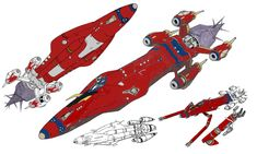 The outlaw star schematics.
