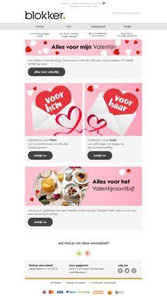 Blokker - Valentijnsdag mailing - Famous Last Words