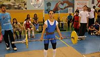 Türkiye Görme Engelliler Spor Federasyonu'nun 2014 faaliyet programında yer alan Büyükler Bay-Bayan Halter Türkiye Şampiyonası Aksaray'da başladı.