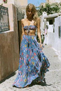 Lovebird Half Moon Skirt
