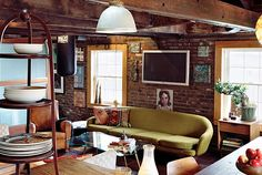 Great Rooms - Randy Polumbo's Peck Slip Loft -- New York Magazine