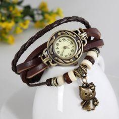 Cat Vintage Wrap Watch – Florence Scovel