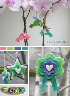 salt dough ornaments with food colouring Diy For Kids, Crafts For Kids, Salt Dough, Craft Activities For Kids, Craft Party, Clay Creations, Diy Gifts, Christmas Ornaments, Dough Ornaments