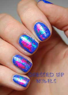 Dressed Up Nails - nail art with nail foils from Born Pretty Store