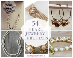 Check out this collection of 54 Pearl Jewelry Tutorialsand see how far pearls have come since theirvintage jewelrydays!