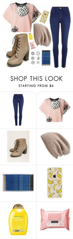 """""""Untitled #230"""" by pianotrombonegirl ❤ liked on Polyvore featuring River Island, MSGM, Halogen, Organix and Neutrogena"""