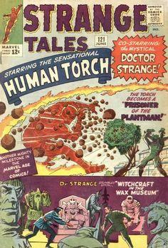 Strange Tales # 121 by Jack Kirby, Sol Brodsky & Steve…