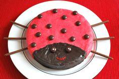 Marienkäfer-Kuchen - Kinderspiele-Welt.de