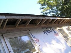 Save money and time when installing soffit, the exposed siding underneath your roof's overhang. Backyard Storage Sheds, Shed Storage, Vinyl Siding Installation, Fascia Board, Roof Overhang, Carport Garage, Saving Money, Home Improvement, Exterior