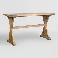 Wood Keaton Counter Height Table - v1