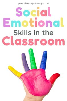 Teachers: Do you realize that social-emotional skills such as empathy, compassion, and kindness are important to build in the classroom? try these tips to encourage kindergarten, first grade, second grade, and third grade kids to develop social skills and emotional awareness through morning meeting, modeling, bucket filler activities, and more. #socialemotionallearning #teachingtips #socialskills #emotions #kindness Teaching Empathy, Teaching Social Skills, Social Emotional Learning, Teaching Ideas, Kindness Activities, Mindfulness Activities, Friendship Activities, Emotional Awareness, Social Awareness