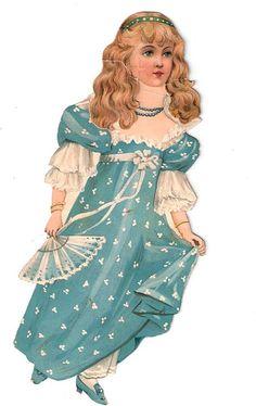 Raphael Tuck Paper Doll, 1894