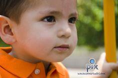 fotografía, bebe, retrato, niño, close up