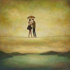 Αγάπη: 10 αλήθειες που ξεχνάμε Art And Illustration, Art Of Love, Silhouette, Art Boards, Fantasy Art, Art Photography, Digital Art, Wall Art, Drawings