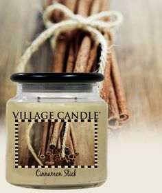 Cinnamon Stick| New Kitchen Collection Scented Candles | Village Candle