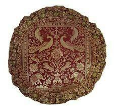Banarasi silk cushion cover