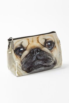 12 Secret Santa Gifts That Put Drugstore Buys To Shame #refinery29 |  Catseye Pug Small Bag, $14.95, available at Papyrus.