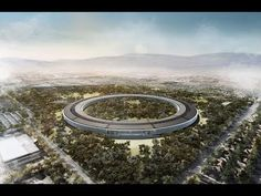 """Steve Jobs commissioned Sir Norman Foster to design Apple's new headquarters in Cupertino, Calif. Jobs described as a """"spaceship. Norman Foster, Apple Campus 2, Steve Jobs, Sede Da Apple, Apple Headquarters, Apple Office, Apple Picture, Foster Partners, Arquitetura"""