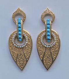 earrings  1880  Tadema Gallery