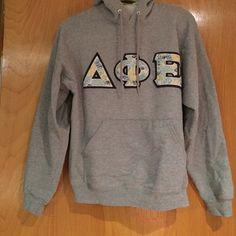 DPHIE GRAY HOODIE SWEATSHIRT! DPHIE gray hoodie sweatshirt from JERZEES!  Dphie Tops Sweatshirts & Hoodies