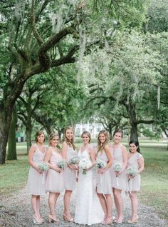 Joanna August | Borrowed&Blue Feature: Sweet and Simple Wedding in Charleston | Tiny Dancer | Real Weddings | Photo By: Aaron and Jillian Photography