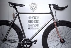 #dots bike black edition Dots Design, Black Edition, Black Dots, Bike, Studio, Bicycle Kick, Bicycle, Study, Bicycles
