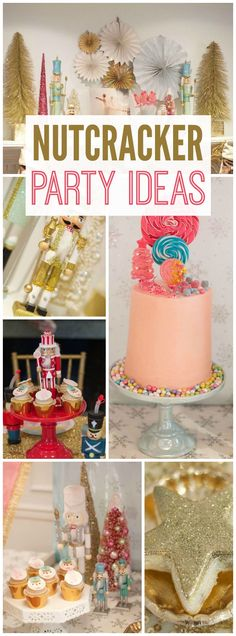You have to see this Nutcracker Ballet party with the Sugar Plum Fairy! See more party ideas at CatchMyParty.com!