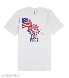 "Check out my new design on @skreened ""Knope for prez"" #parksandrec #leslieknope #2016election #lol #netflix #tshirt #fashion"