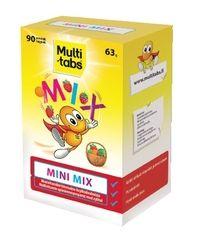 Multi-tabs Mini Mix 90 purutablettia - Kaikki maut käy. 10,20 €. Nämä pystyy lähettämään kirjeenä, koska ovat foliolevyssä.