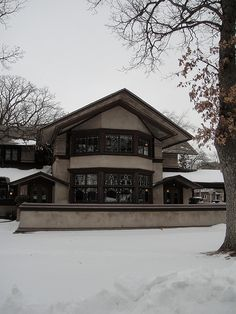 The Bradley House - Frank lloyd Wright - DSC06947