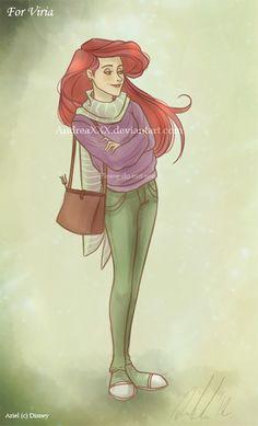 Viria's Ariel by AndytheLemon