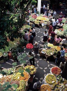 Funchal, Madeira   Municipal Market - Mercado dos Lavradores #Portugal