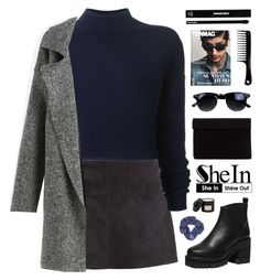 """""""SheIn 4"""" by novalikarida ❤ liked on Polyvore featuring H&M, Dion Lee, Topshop, Mad et Len and Edward Bess"""