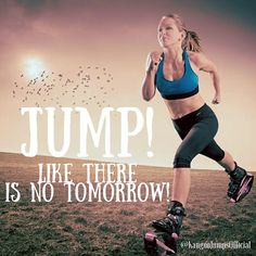 #jump! Like there is no tomorrow!! #havefungettingfit #fit #fitness #kangoojumps #kangoo #jumps #run