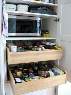 My Ikea Pax wardrobe used as a kitchen pantry | Ikea hacks ... | {Küchen ikea 35}
