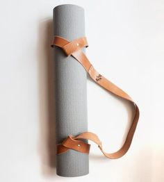 Leather Yoga Mat Strap by Sissipahaw Leather Co. on Scoutmob Shoppe