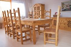55 Best Pinie Holz Mobel Images Dinning Table Food Diner Table