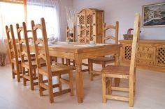 Esstisch 250x100 Mexico Pinie Massiv Holz Moebel Esszimmer Tisch Küchentisch