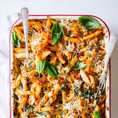 This spinach & Ricotta Pasta Bake is super delicious and easy when cooking for the family. Not to mention everyone loves a good pasta bake, especially during these colder months. Ricotta Pasta Bake, Healthy Pasta Bake, Spinach Ricotta, Healthy Pastas, Healthy Work Snacks, Frozen Spinach, Vegetarian Pasta Bake, Pasta Bake Recipes, Creamy Pasta Bake