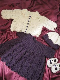 Lacy Dress and Jacket (K)