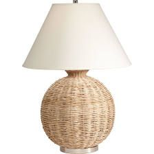 Seagrass Table Lamp - Ethan Allen